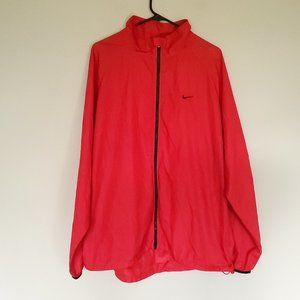 Nike Athletic Dept packable windbreaker Red XXL